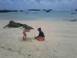 綺麗な海です.JPG